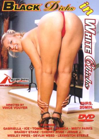 Black Dicks In White Chicks from Red Light District front cover