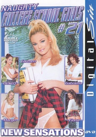 Naughty College School Girls 21 from New Sensations front cover