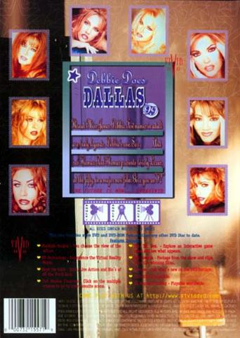 Debbie Does Dallas 99 from Vivid back cover
