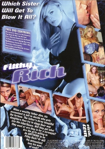 Filthy Rich from Vivid back cover