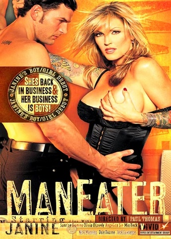 Maneater from Vivid front cover