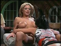 Amateur big tits topless