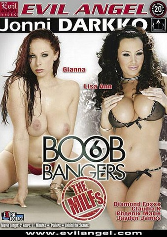 Boob Bangers 6 from Evil Angel: Jonni Darkko front cover