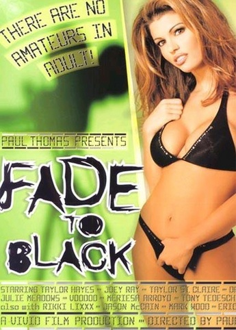 Fade To Black from Vivid front cover