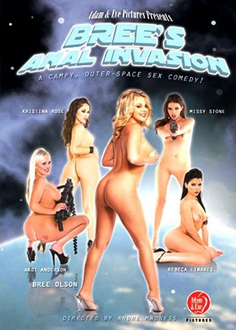 Bree's Anal Invasion from Adam & Eve front cover
