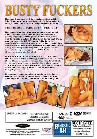 Busty Fuckers from Viv Thomas back cover