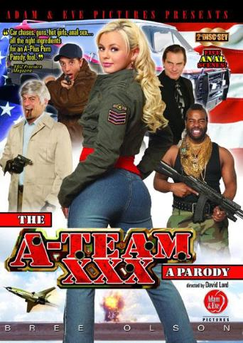 The A-Team A XXX Parody from Adam & Eve front cover