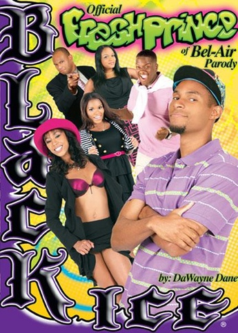 Official Fresh Prince Of Bel-Air Parody from Black Ice front cover