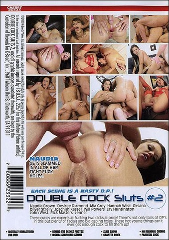 Double Cock Sluts 2 from Cherry Boxxx back cover