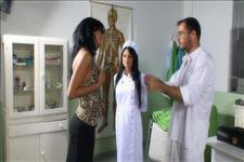 Black Angelika Special Nurse Scene 5