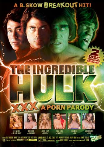The Incredible Hulk XXX from Vivid front cover