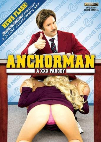 Anchorman A XXX Parody from New Sensations front cover
