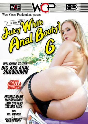 Juicy White Anal Booty 6 from West Coast front cover