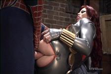 порно анал спайдермен