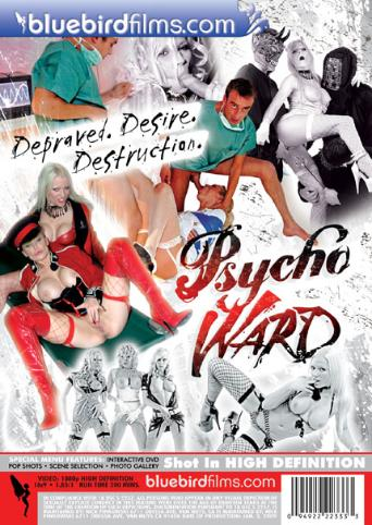 Psycho Ward from Bluebird Films back cover
