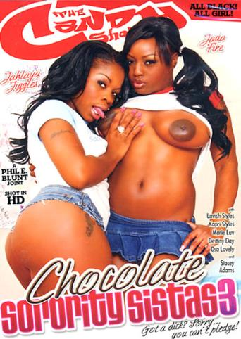 Chocolate Sorority Sistas 3 from Candy Shop front cover