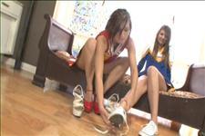 Lesbian Cheerleaders Scene 1