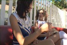 Lesbian Cheerleaders Scene 4