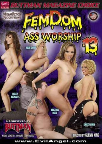 Femdom Ass Worship 13 from Evil Angel front cover