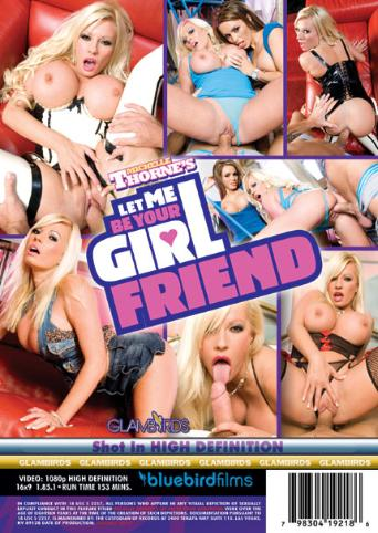 Michelle Thorne's Let Me Be Your Girlfriend from Bluebird Films back cover