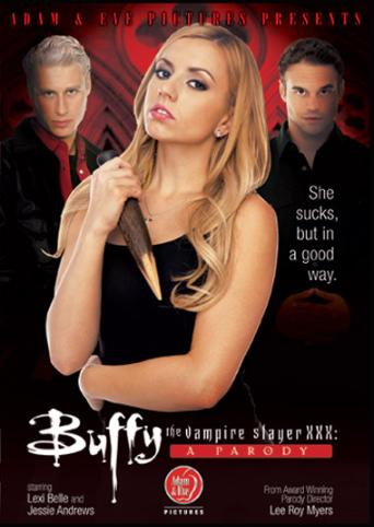 Buffy The Vampire Slayer XXX A Parody from Adam & Eve front cover