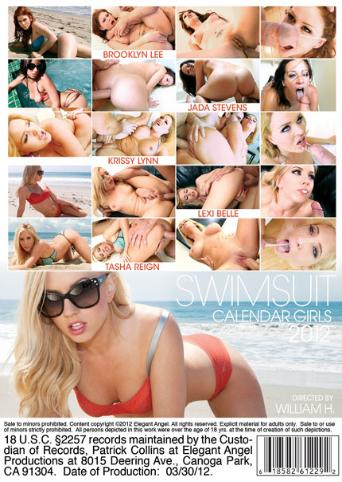 Swimsuit Calendar Girls 2012 from Elegant Angel back cover