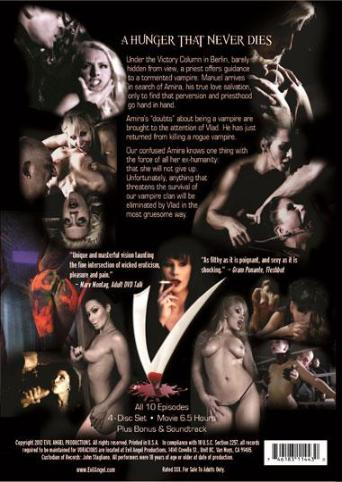 Voracious from Evil Angel: Rocco Siffredi back cover