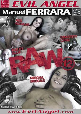 Raw 12 from Evil Angel: Manuel Ferrara front cover