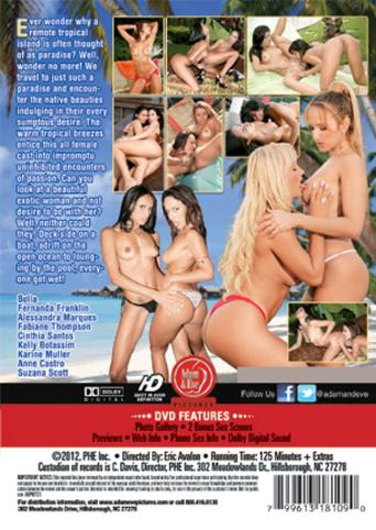 Island Girls from Adam & Eve back cover