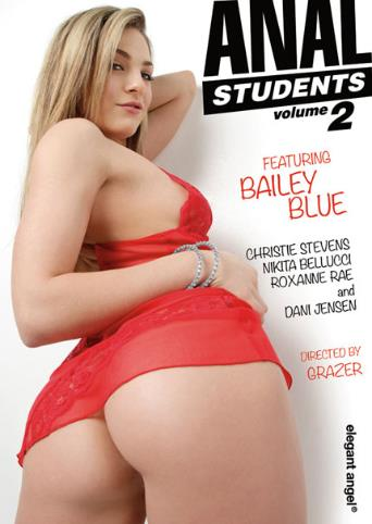 Anal Students 2 from Elegant Angel front cover