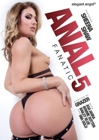 Anal Fanatic 5 from Elegant Angel front cover