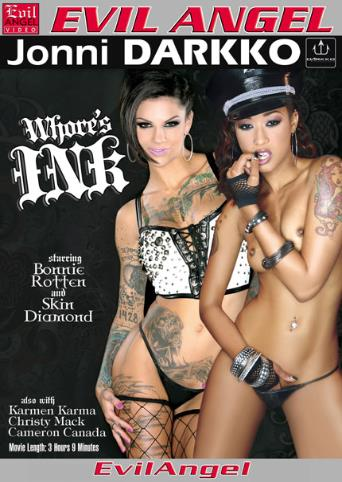 Whore's Ink from Evil Angel: Jonni Darkko front cover