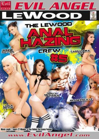 The Lewood Anal Hazing Crew 5 from Evil Angel front cover