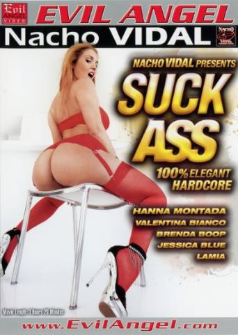 Suck Ass from Evil Angel: Nacho Vidal front cover