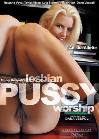 Lesbian Pussy Worship from Filly Films front cover