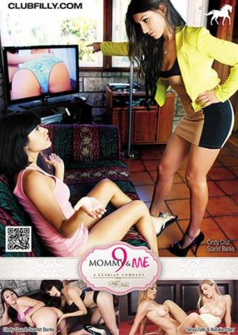 Mommy And Me 9 from Filly Films back cover