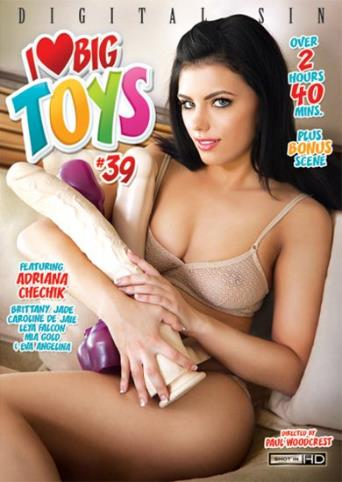 I Love Big Toys 39 from Digital Sin front cover