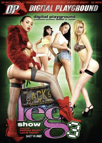Jack's Leg Show 3 from Digital Playground front cover