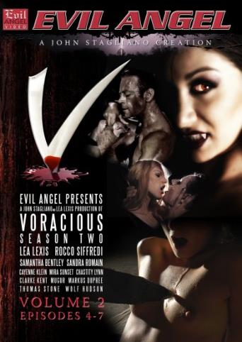 Voracious Season Two V2 from Evil Angel: Rocco Siffredi front cover