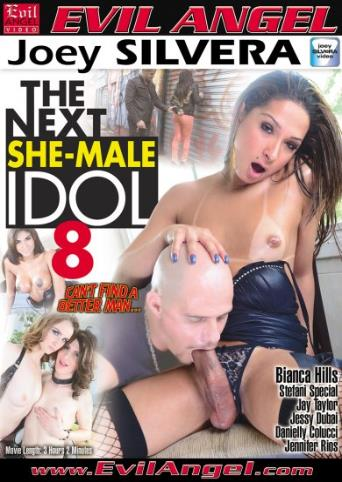 The Next She Male Idol 8 from Evil Angel: Joey Silvera front cover