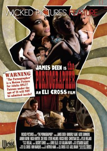 James Deen Is The Pornographer from Wicked front cover