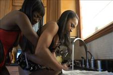Black Lesbian Seductions Scene 3