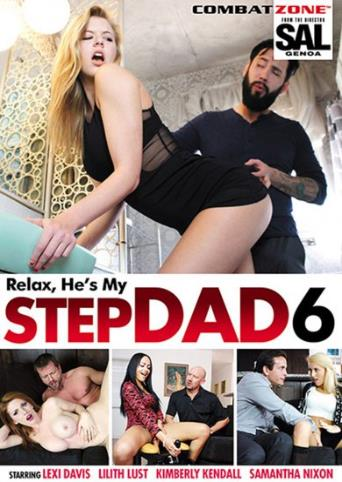 Relax He's My Stepdad 6 from Combat Zone front cover