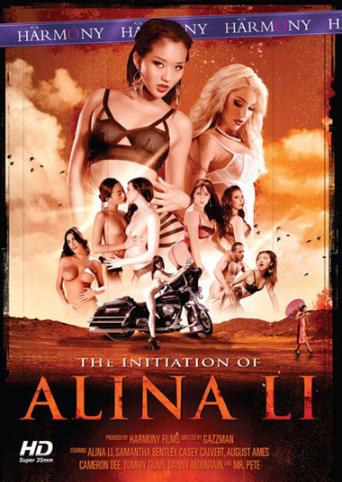 The Initiation Of Alina Li from Harmony front cover