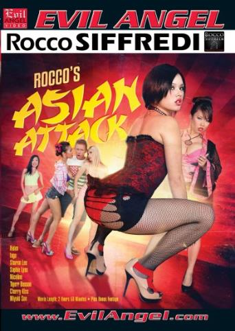 Rocco's Asian Attack from Evil Angel: Rocco Siffredi front cover