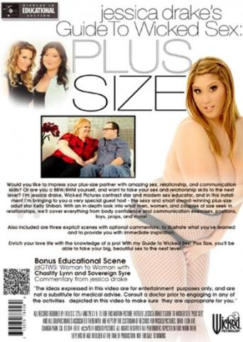 Jessica Drake's Guide To Wicked Sex Plus Size from Wicked back cover