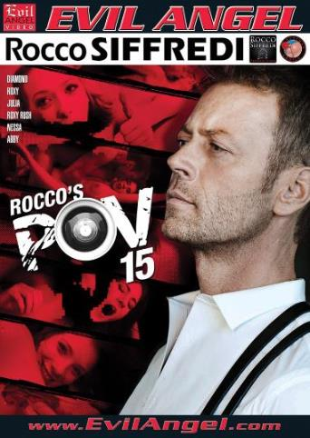 Rocco's POV 15 from Evil Angel: Rocco Siffredi front cover