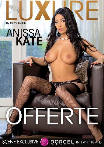 Luxure Anissa Kate Offered from Marc Dorcel back cover