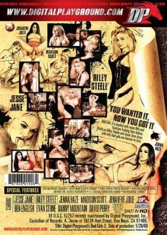 Bad Girls 3 from Digital Playground back cover