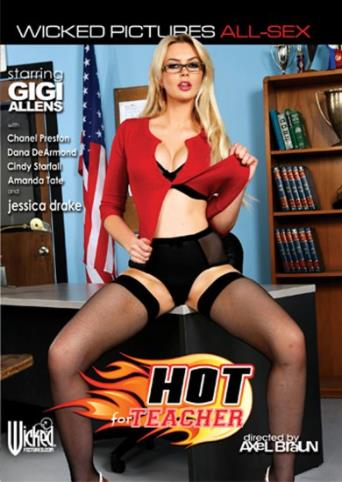 Hot For Teacher from Wicked front cover